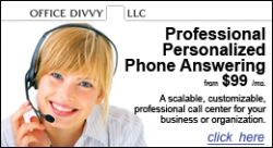 Office Divvy Phone Answering